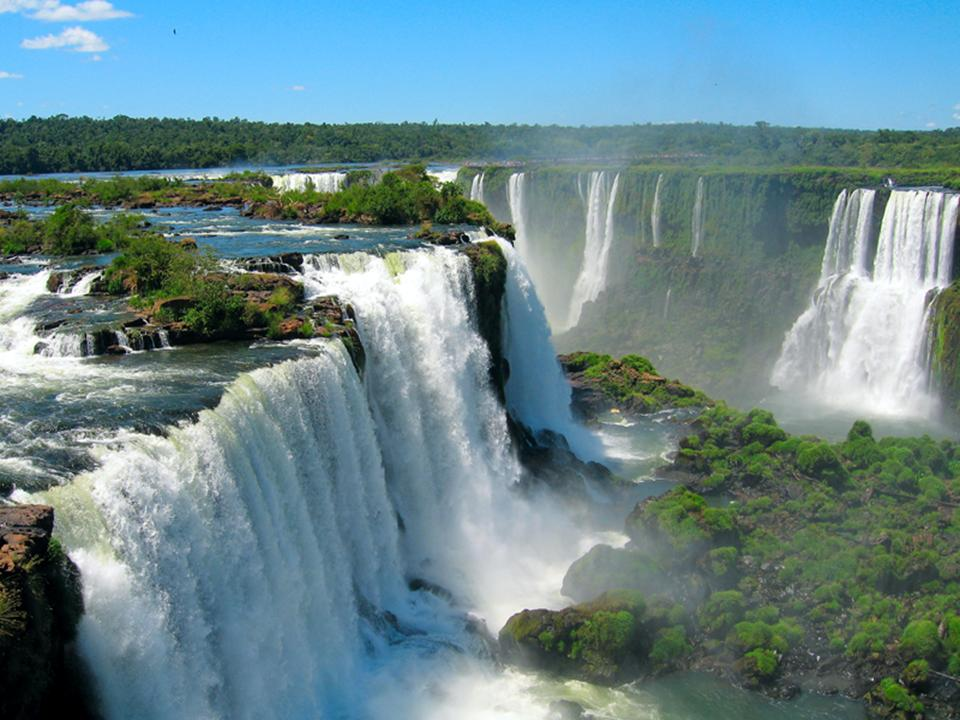 самые красивые водопады мира