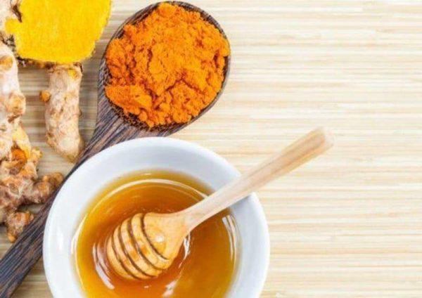 Мёд с куркумой