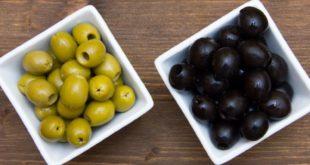 чем отличаются черные оливки от зеленых